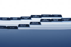 корпоративная регистраторша Стоковая Фотография RF