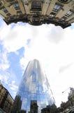 корпоративная стеклянная башня Стоковые Фото