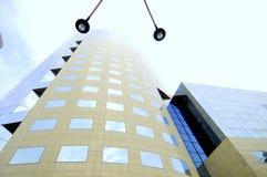 корпоративная стеклянная светлая башня Стоковое Фото