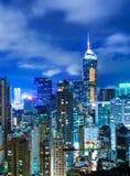 Корпоративное здание в Гонконге Стоковое фото RF