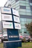 Корпоративное офисное здание Стоковые Фотографии RF
