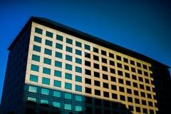 Корпоративное офисное здание Стоковое Изображение RF