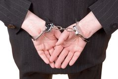 корпоративное правосудие Стоковое фото RF