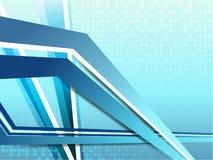 корпоративное предпосылки голубое Стоковые Фото
