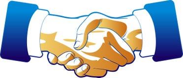 корпоративное рукопожатие бесплатная иллюстрация