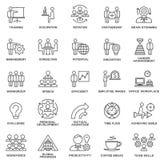 Корпоративное управление значков, тренировка дела Стоковые Фото
