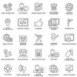 Корпоративное управление значков, тренировка дела Стоковые Фотографии RF