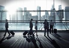 Корпоративной бизнесмены концепции сыгранности соединения маркетинга Стоковые Фотографии RF