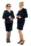 Корпоративные женщины обсуждая дело Стоковое Фото