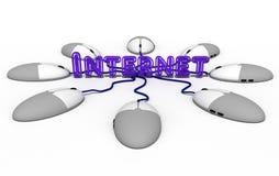 корпоративные интернеты Стоковые Изображения