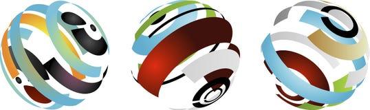 корпоративные логосы Стоковая Фотография RF