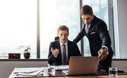 Корпоративные профессионалы создавая стратегию Стоковое Изображение