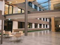 корпоративный нутряной самомоднейший офис Стоковое Фото