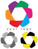 Корпоративный логотип иллюстрация штока