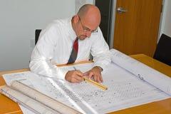 корпоративный офис работника Стоковая Фотография RF