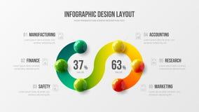 Корпоративный план дизайна отчете о данным по аналитика маркетинга Шаблон визуализирования данным по статистик компании графическ бесплатная иллюстрация