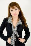 корпоративный портрет девушки стоковые фото