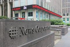 Корпорация новостей Стоковая Фотография