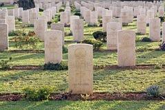 Корпус кавалерии воинского кладбища австралийский с первого мира Стоковое Изображение