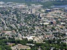 Корпус Квебек, воздушный Стоковые Изображения RF