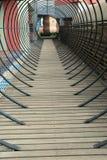 корридор деревянный стоковые фотографии rf