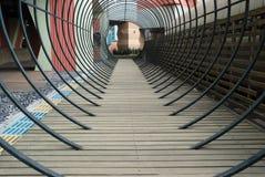 корридор деревянный стоковое фото