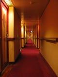 корридор длиной стоковое изображение rf