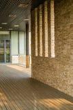Корридор и каменные стены Стоковое Изображение RF