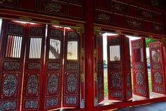 корридор город имперский Hué Вьетнам Стоковые Фотографии RF