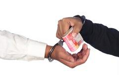 Коррумпированный бизнесмен Стоковое Фото