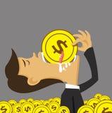 Коррупция и человек бесплатная иллюстрация