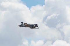 Корсар Vought F4U-1A на дисплее Стоковая Фотография RF