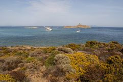 Корсика, Corse, крышка Corse, верхнее Corse, Франция, Европа, остров Стоковая Фотография RF