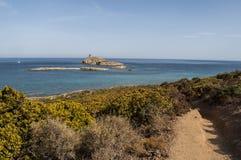 Корсика, Corse, крышка Corse, верхнее Corse, Франция, Европа, остров Стоковые Изображения RF