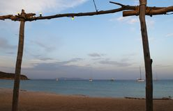 Корсика, Corse, крышка Corse, верхнее Corse, Франция, Европа, остров стоковые фотографии rf