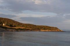 Корсика, Corse, крышка Corse, верхнее Corse, Франция, Европа, остров стоковое изображение