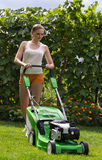 Косить лужайку Стоковые Изображения RF