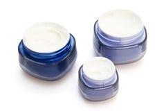 косметика контейнеров creams Стоковое Изображение