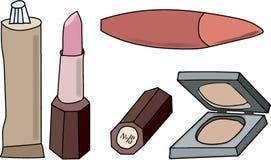 Косметики женщин s иллюстрация штока