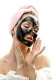 косметическая маска стоковые изображения rf