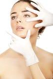 Косметическая медицина. Стоковые Изображения RF