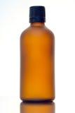 Косметическая предпосылка бутылки Стоковая Фотография