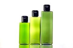 Косметическая предпосылка бутылки Стоковое Изображение