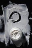 Косметическая сливк в опарнике стоковое фото