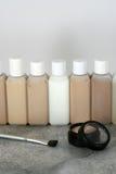 косметические продукты Стоковое Изображение RF