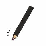 Косметический значок карандаша состава Стоковая Фотография