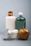 косметическое skincare продукта Стоковое Изображение RF