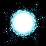 Космическая абстрактная предпосылка Стоковые Изображения RF