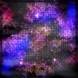 Космическая глубина Космос ландшафта стоковое фото rf
