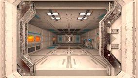 Космическая станция стоковое фото